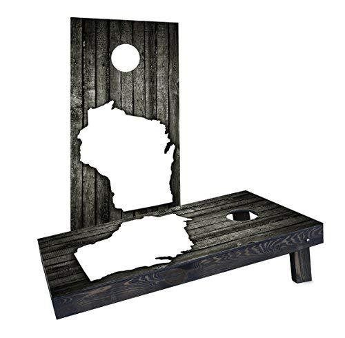 【お年玉セール特価】 Custom Cornhole Slat Boards Incorporated [並行輸入品] CCB842-AW-RH Wood Slat Boards Wisconsin Theme Cornhole Boards [並行輸入品] B07HLGX3X4, CASA HILS 【カーサヒルズ】:57c89e67 --- arianechie.dominiotemporario.com