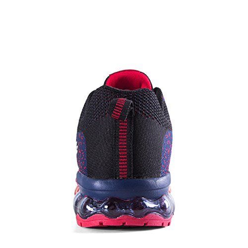 Flyknit Air Max Shoes Mesh Sport Running Outdoor Athletic Comfortable Breathable Sneakers Red NU8m0xML