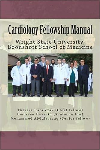 Cardiology Fellowship Manual: Wright State University