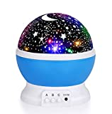 Best Baby Projectors - Luckkid Baby Night Light Moon Star Projector 360 Review