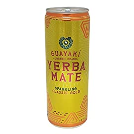 Guayaki Yerba Mate Classic Gold Sparkling Mate, 12 fl. oz. (Pack of 16) 15