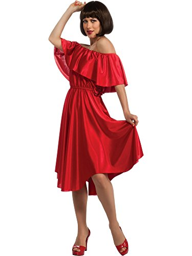 Rubie's Women's Saturday Night Fever Dress, Red, Standard]()