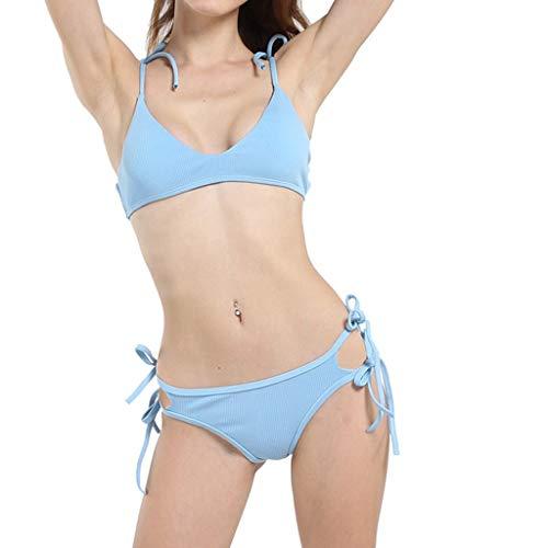 Aolity Vintage Swimwear, Women Private Label Swimsuit Sexy Girl Bikini Light ()