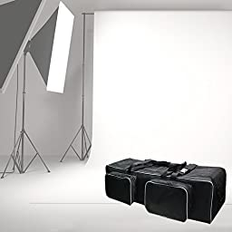 LimoStudio Photo Studio Equipment Large Carrying Case Bag with Strap for Tripod, Light Stand, Photo Lighting Bundle Kit, 36 inch Length, Padded Protection, Big Cushion Storage, Photography, AGG1916