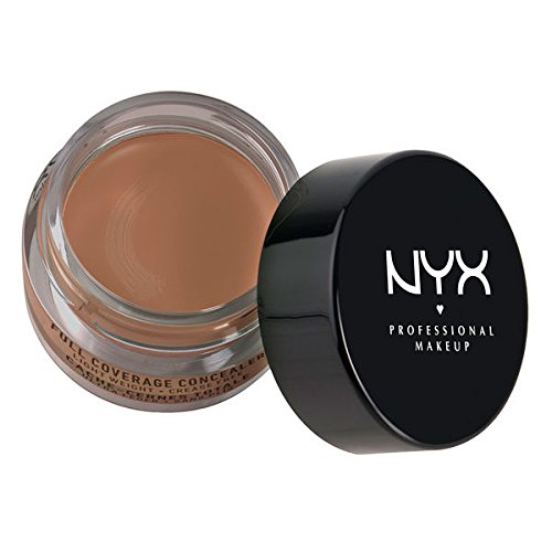 NYX Above & Beyond Full Coverage Concealer CJ08 Nutmeg 0.25 oz