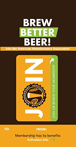American Homebrewers Association (AHA) 1- Year Membership
