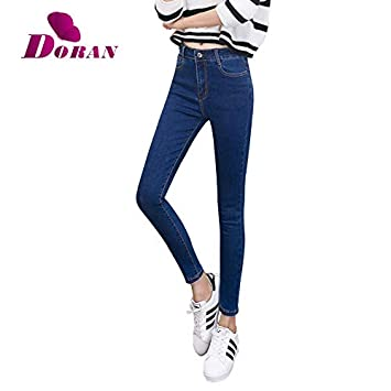 92ad127a60c Image Unavailable. Image not available for. Color  KathShop Womens Colored  Skinny Jeans Plus Size ...