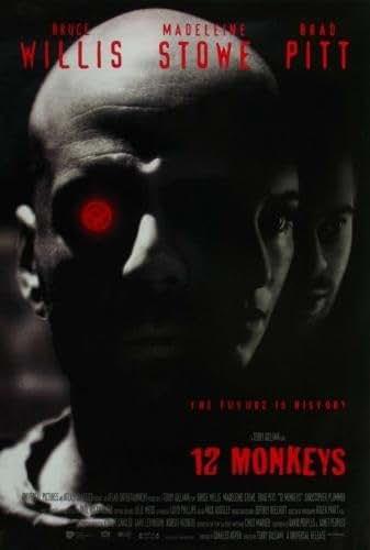 Twelve 12 Monkeys Movie Poster 11x17 Master Print