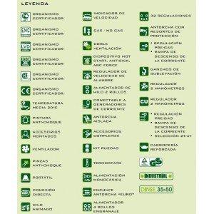 CEVIK - Equipo de soldadura con tecnología Inverter modelo SKI PRO 300 de 170 A.: Amazon.es: Bricolaje y herramientas