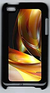 iPod 4Case 3D Abstract Designs 3 PC Custom iPod 4Case Cover Black