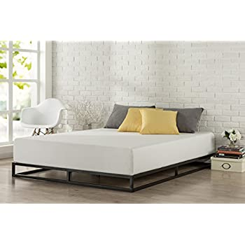 Zinus Modern Studio 6 Inch Platforma Low Profile Bed Frame   Mattress  Foundation   Boxspring Optional. Amazon com  Zinus Essential Upholstered Platform Bed Frame