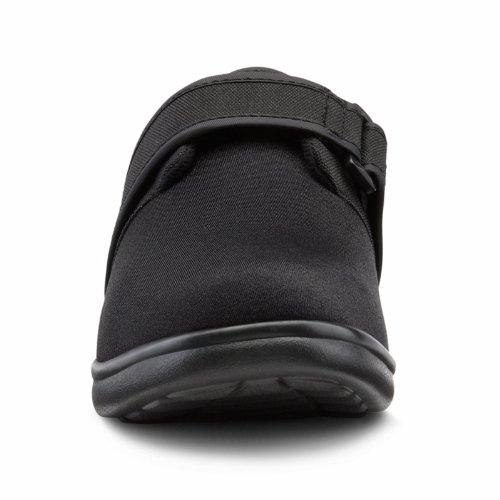 Dr. Comfort Marla Womens Terapeutico Diabetico Extra Profondità Scarpa Lycra Velcro Nero