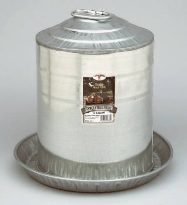 5 gal. Little Giant Galvanized Double Wall Founts