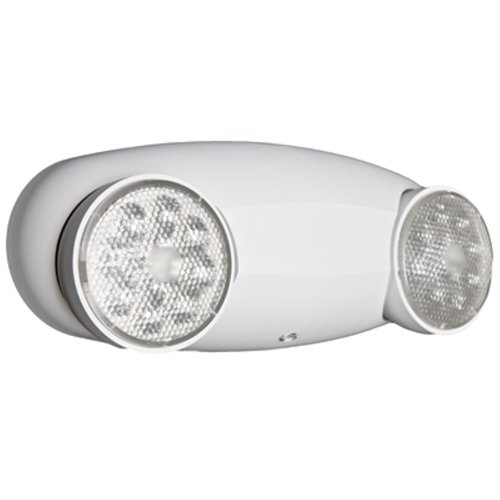 Lithonia Lighting ELM2 LED HO M12 Quantum 2-Light White LED Emergency Fixture Unit High-output ni-cad battery - Quantum Remote