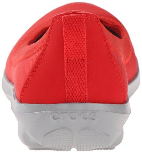 Crocs Ladies Bsydaystrtchflt Ballerinas Red (flame)