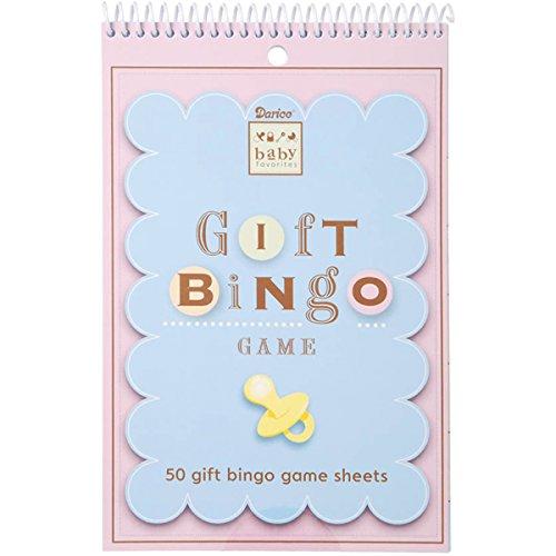 Baby Shower Game Pad Bingo