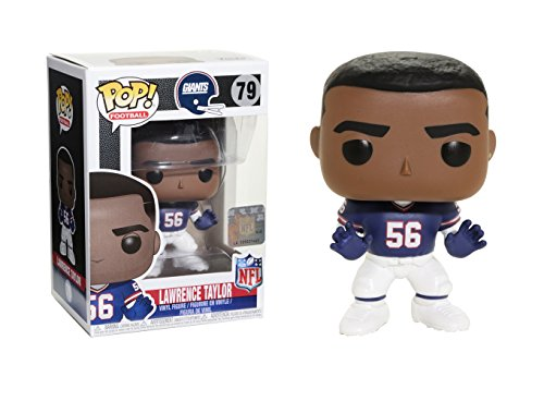 Funko POP NFL: Lawrence Taylor (Giants Throwback) Collectible Figure