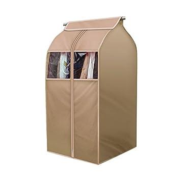Tsing 1 Pack Garment Cover 420D Nylon Oxford Fabric Storage Bag-Beige-20''W23''D35''H Jiafumei supplies Co. LTD. Jinan China