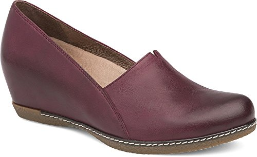 Wine Liliana Flat Loafer Dansko Women's wS6qT