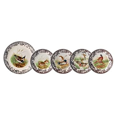 Spode Woodland 5 Piece Serving Bowl Set