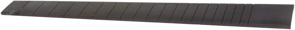 Flameer 20 Frets Fretboard Ebony Guitar Fingerboard for Luthier DIY Supplies