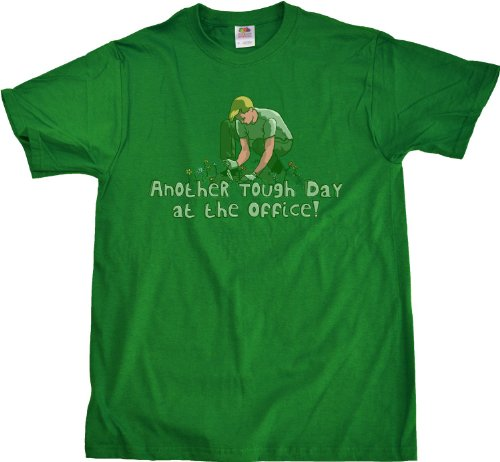 Another Tough Day at the Office Unisex T-shirt Funny Gardening Tee
