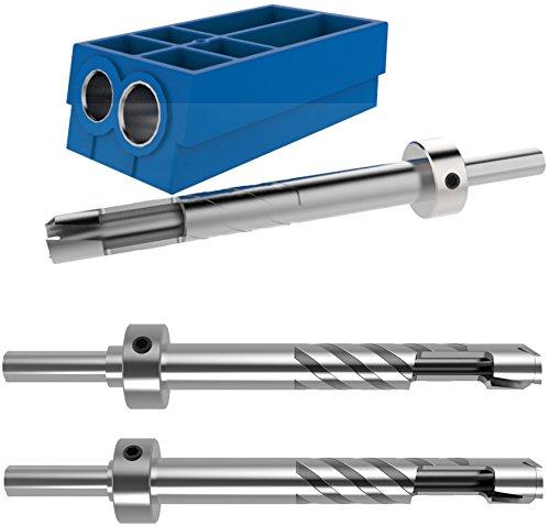 Kreg Pocket Hole Plug Cutter Master Pack (KPCS, KPC1060, KPC1040) (Cutter Jig)