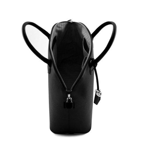 Tuscany Leather - Sac à main cuir - Taupe clair
