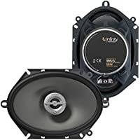 Infinity Reference 8602cfx 6 x 8 / 5 x 7 two-way car audio speakers