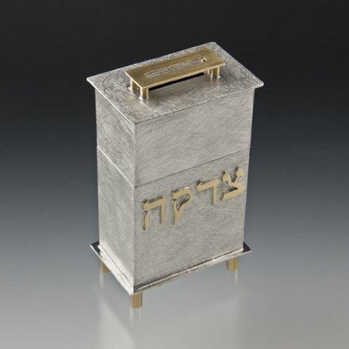 Hanukkah Gifts Tzedakah Box for Charity on Jewish Holidays Bar Mitzvah Bat Mitzvah Gifts Mitzvah Hinged Box