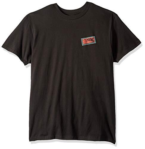 Billabong Men's Chainsaw T-Shirt Black X-Large