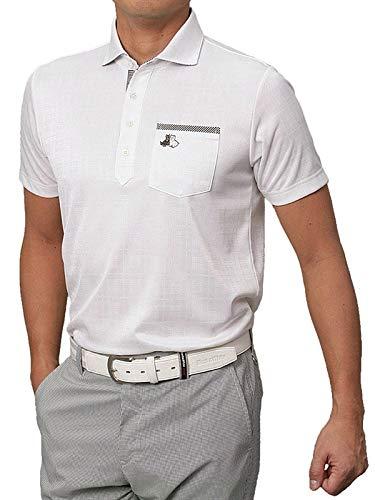 ブラック&ホワイト/ブラック アンド ホワイト(春夏モデル!)半袖 シャツ/ポロシャツ(メンズ) LL 10/ホワイト B07Q6524P2