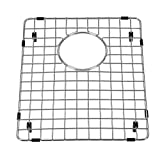 "Yutong Kitchen Stainless Steel Sink Bottom Grid with Small Rounded Corner (16"" x 14"")"