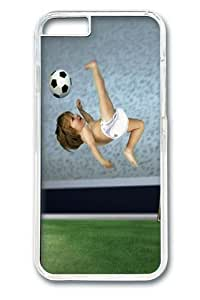 Football Baby Custom iPhone 6 Plus 5.5 inch Case Cover Polycarbonate Transparent
