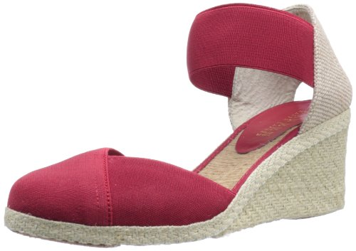 UPC 886380430091, Lauren Ralph Lauren Women's Charla Wedge Sandal,Red,7.5 B US