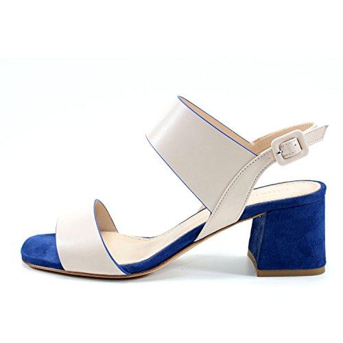 Con Alta Mujeres Para Talón Costura En Giorgio Italia Cm Ceremonia Zapatos Y A Encanto Hecha Cómodo Evento Azul Del De Sandalias Genuino Beige 6 Partido Cuero Hechos Rea Mano wttqSEz