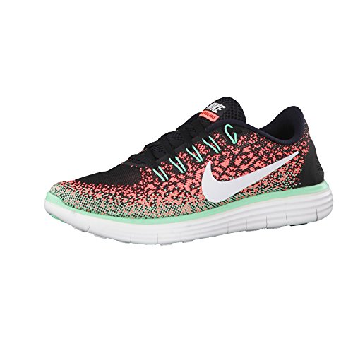 Nike 827116-005, Zapatillas de Trail Running para Mujer Negro (Black / White / Bright Mango / Green Glow)