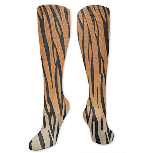 Socks Tiger Stripe Animal Print Marvellous Womens Stocking Holiday Sock Clearance for Girls