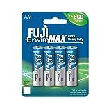 Fuji Enviromax AA baterías Extra Resistentes (4 Unidades)