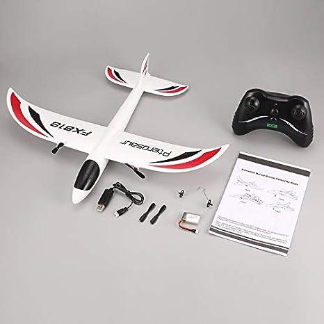 loonBonnie FX FX-818 2.4G 2CH Control Remoto Planeador 475 mm ...