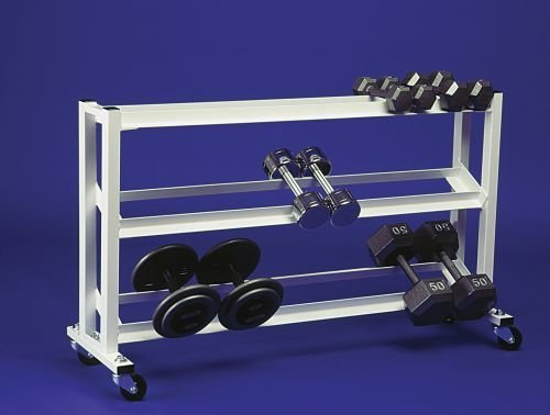 Stroops Dumbbell Rack with Wheels by STROOPS