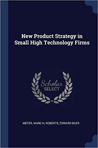 Libros Descargar Gratis New Product Strategy In Small High Technology Firms Archivo PDF