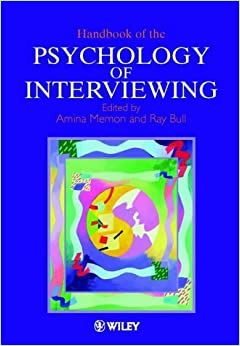 Book Handbook of the Psychology of Interviewing