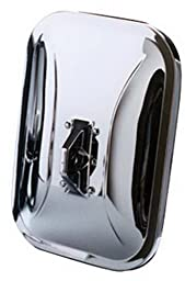 CIPA 94550 Universal Low-Mount Chrome Side Mirror Replacement Head