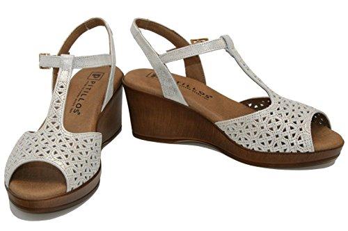 5164 Gold Thong PITILLOS Women's Sandals Dorado vxOIgw5