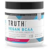 Cheap Truth Nutrition Fermented Vegan BCAA Protein Powder – 2:1:1 Powerful All Natural Branch Chain Amino Acids – Pure BCAAS Promote Enhanced Muscular Endurance, Energy, Stamina & Recovery – 30 Day Supply