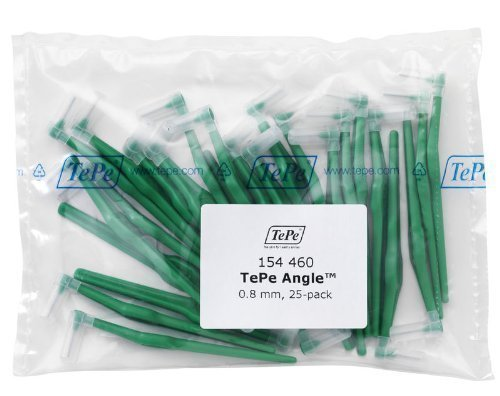 TePe Interdental Angle Green Surgery 25 Pack N/A
