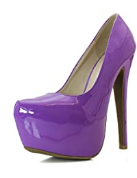 Amazon.com: Purple - Pumps / Shoes: Clothing, Shoes & Jewelry