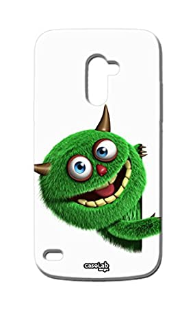 Funda carcasa Case monstruo Furry Verde para LG L Bello D331 ...