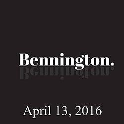 Bennington, April 13, 2016